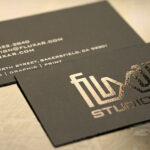 mẫu card visit tại IBN