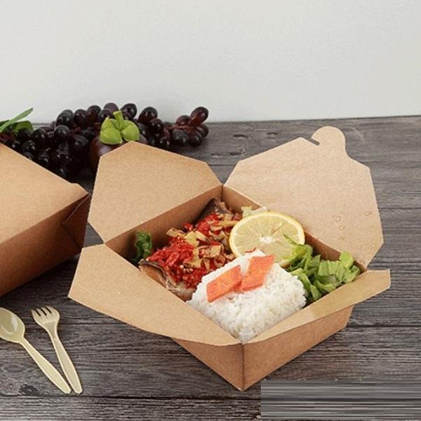 hộp cơm giấy chất lượng giá rể