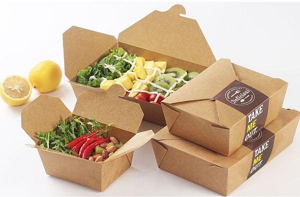 hộp giấy đựng thức ăn nhanh đẹp mắt