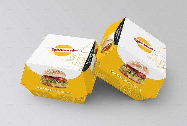 in hộp giấy đựng thức ăn nhanh đẹp