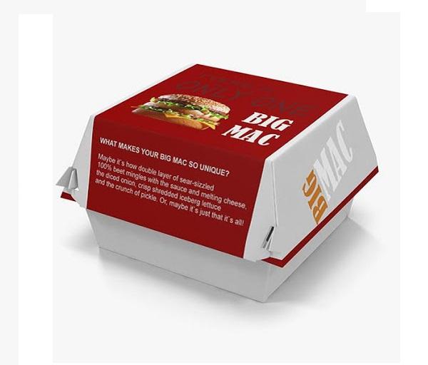 in hộp giấy đựng thức ăn nhanh chất lượng