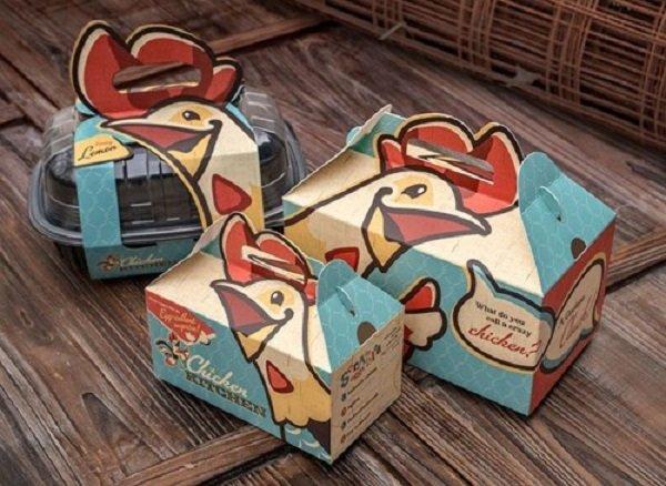 hộp giấy đựng thức ăn nhanh đẹp
