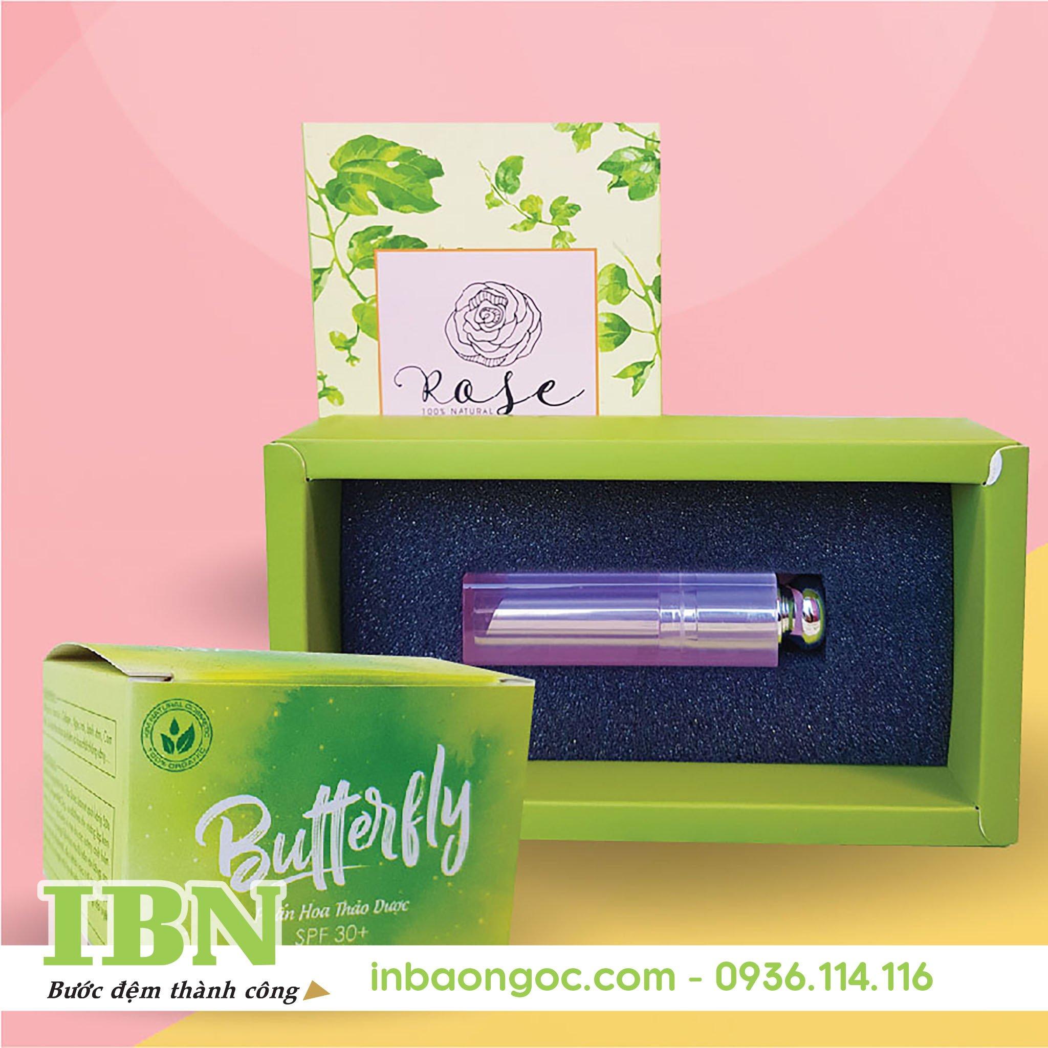 thiết kế hộp giấy chất lượng