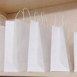 in túi kraft trắng chất lượng cao